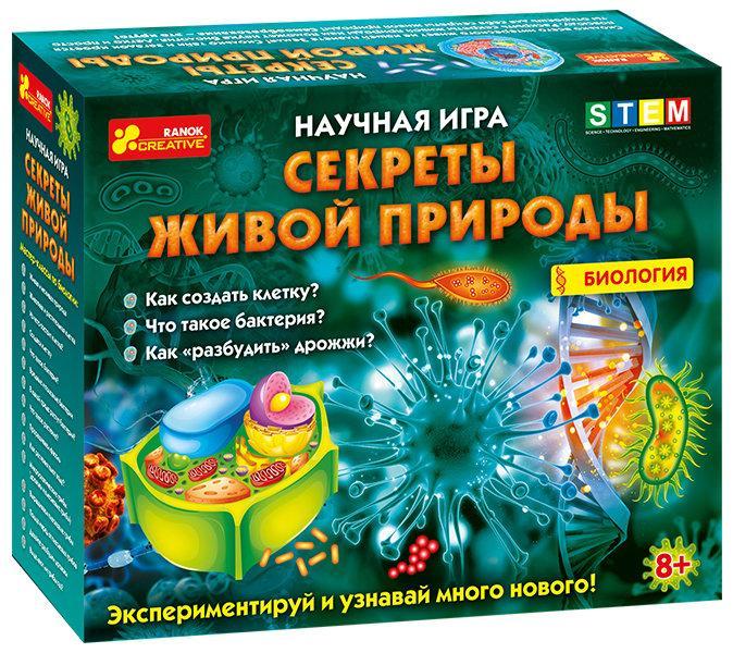 """Наукова гра Ranok-Creative """"Секрети живої природи. Біологія"""" (302311)"""