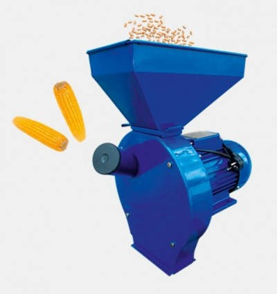 Кормоизмельчитель - зернодробилка  ДТЗ КР - 02  ( зерно + початки кукурузы ), фото 2