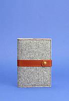 Обложка для паспорта BlankNote 1.1 Серый (BN-OP-1.1-felt-k), фото 1