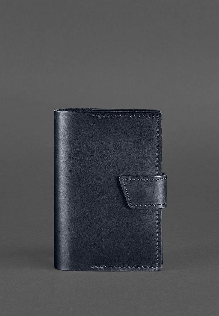 Обложка для паспорта BlankNote 4.0 Темно-синий (BN-OP-4-navy-blue)