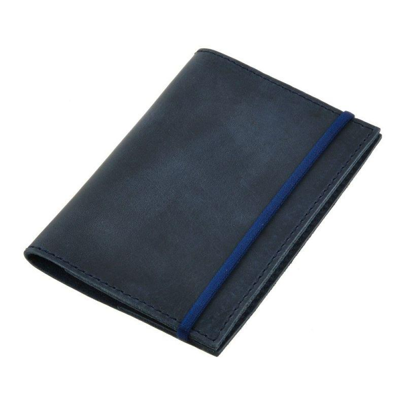 Обложка для паспорта BlankNote 1.0 Темно-синий (BN-OP-1-nn)