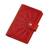 Обложка для паспорта BlankNote Инди 3.0 Красный (BN-OP-3-coral-ls), фото 1