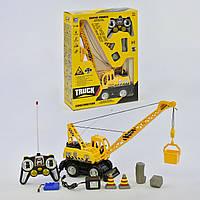Кран Truck на радиоуправлении Желтый (1115-04)