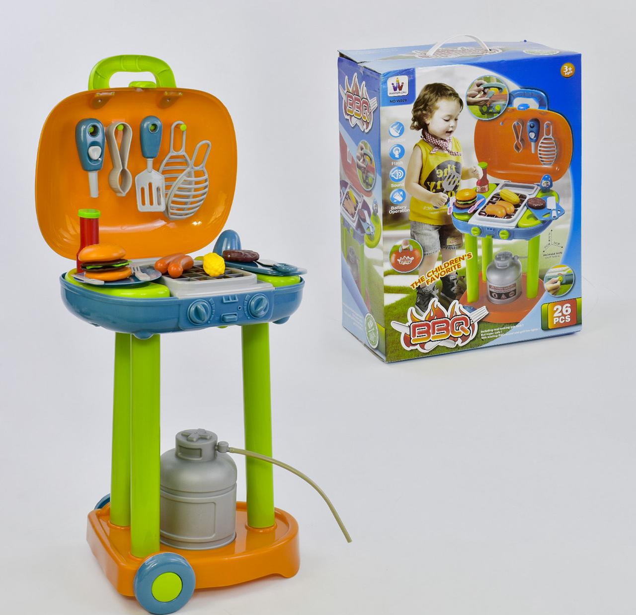 Игровой набор продуктов GTM Барбекю со звуком Разноцветный (1059-04)