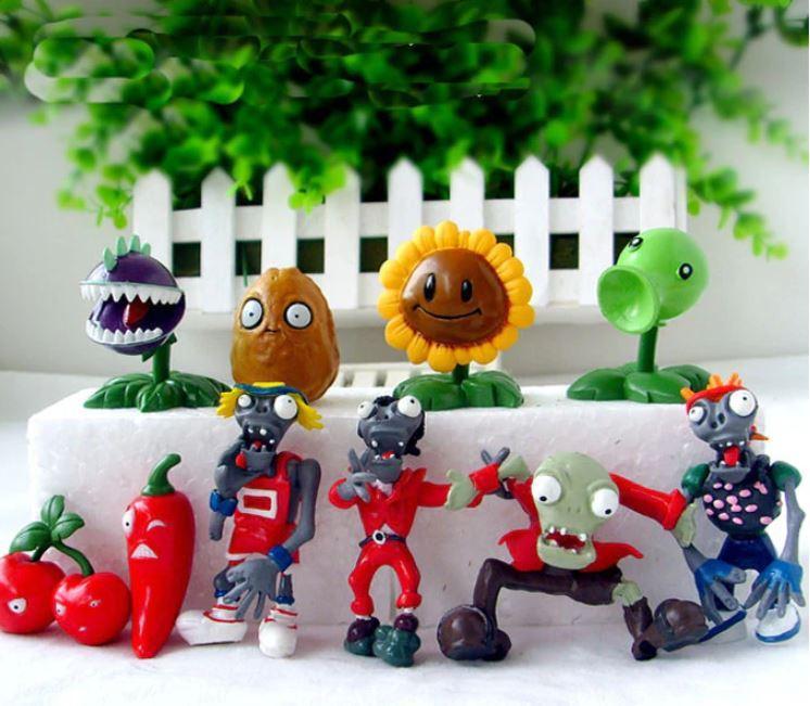 Набор №6 Растения против зомби Plants vs Zombies 10 фигурок (6nabor)