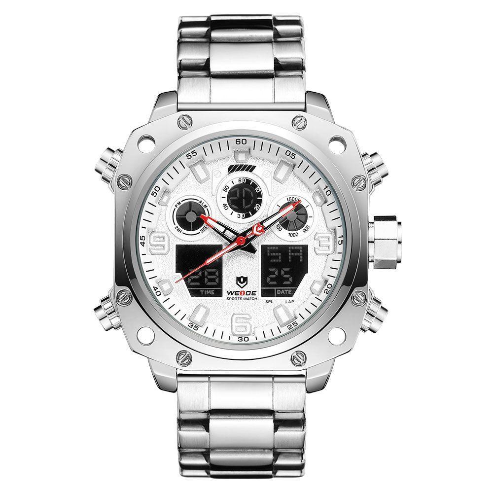 Часы Weide White WH7303-2C SS (WH7303-2C)