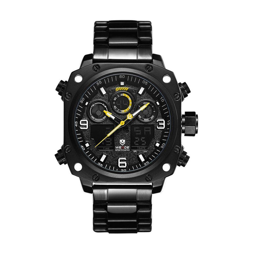 Часы Weide All Black WH7303B-2C SS (WH7303B-2C)