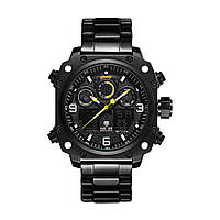 Часы Weide All Black WH7303B-2C SS (WH7303B-2C), фото 1