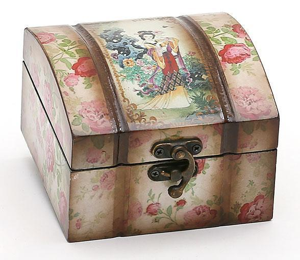 Деревянная шкатулка Bona Адель Восточный Мотив Розы 11.5x12.5x8 см (psg_BD-412-280)