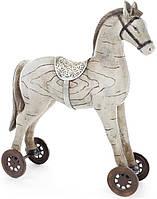 Статуэтка декоративная Bona Детская лошадка 37.5 см Бежевый (psg_BD-218-452)