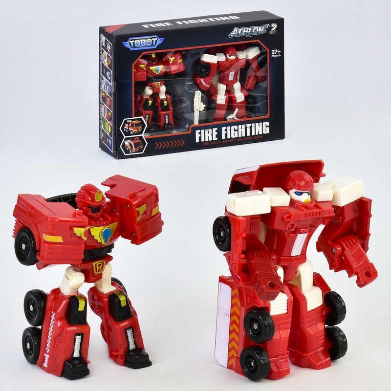 Набор трансформеров Fire Fighting 513 Красный (2-513-69294)