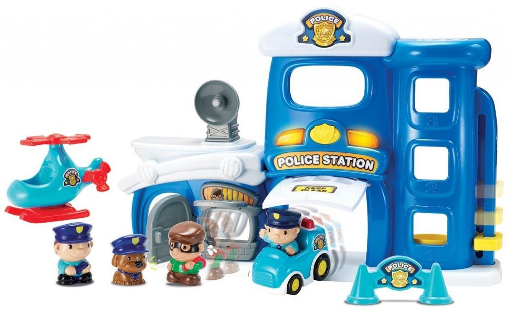 Игровой набор Keenway 32822 Полицейская станция Синий (int_32822)