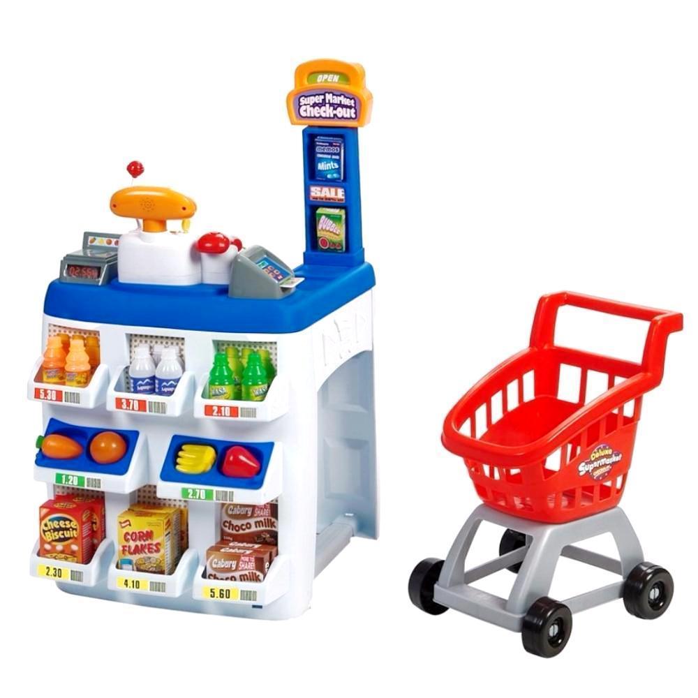 Магазин Keenway 31621 20 предметов Разноцветный (int_31621)