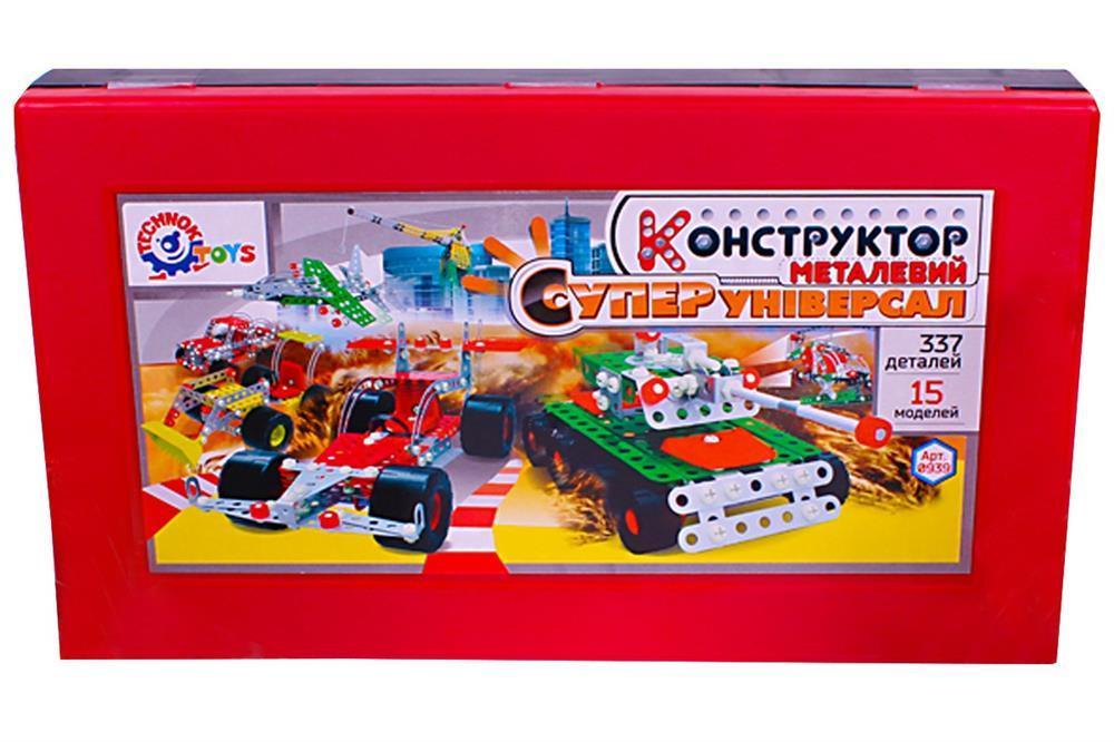 Конструктор ТехноК Суперуниверсал металлический 0939 (222439)