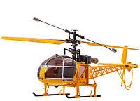 Вертолет 4-к большой на радиоуправлении WL Toys V915 Lama Желтый (WL-V915y), фото 1