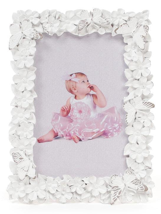 Фоторамка Bona Sweet White Бабочки 10 х 15 см Белый (psg_BD-493-589)