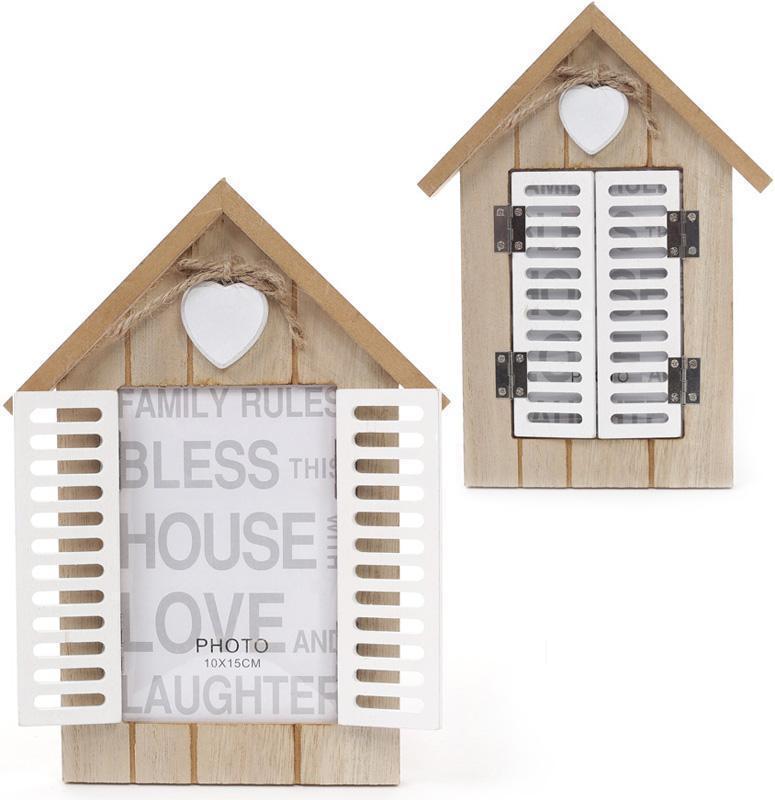 Фоторамка Babyroom Окно со ставнями 10х15 см Деревянная (psg_BD-443-550)