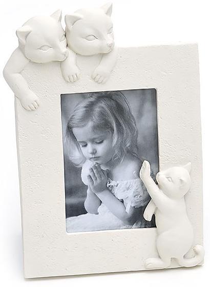 Фоторамка BabyRoom Котики 10х15 см Белая (psg_BD-489-F117)