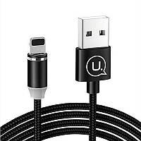 Кабель USAMS US-SJ292 USB to Lightning 1m Черный (686443), фото 1