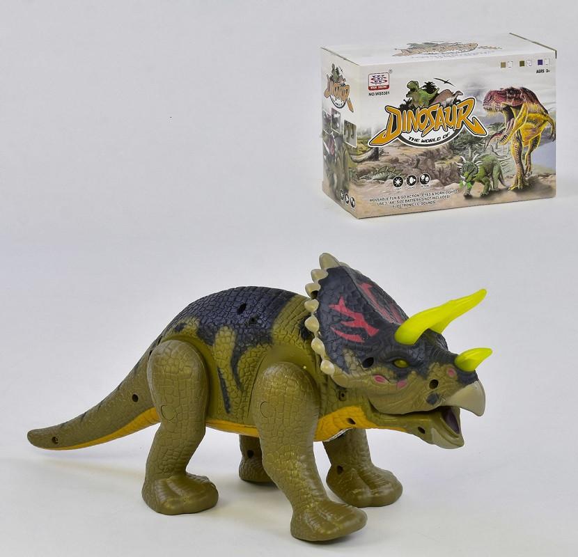 Игровая фигурка JC Toys Динозавр WS 5301 В Разноцветная (2-WS5301В-38129)