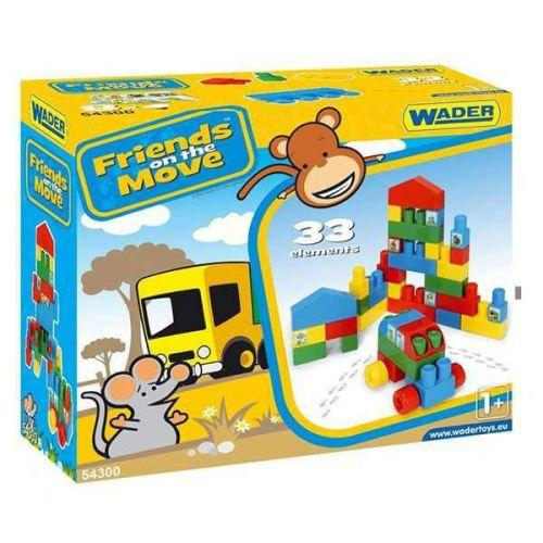 Конструктор Wader Friends on the Move 33 детали (TOY-28547)