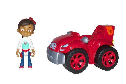 Герой Расти Механик Руби на красном авто (TOY-50088)