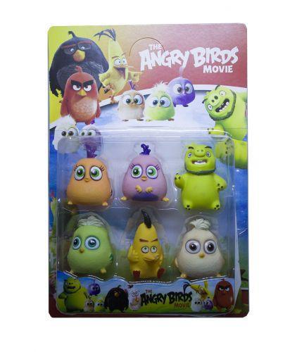 Набор фигуок Toysi Angry Birds (TOY-31232)