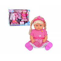 Музыкальная кукла с гардеробом Warm Baby (TOY-56055)