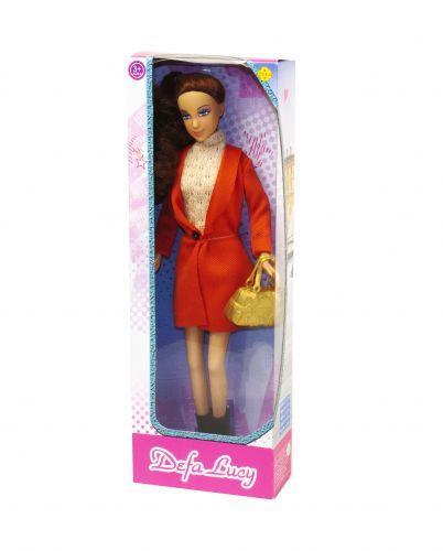 Кукла Defa Lucy Городской стиль в оранжевом (TOY-39530)