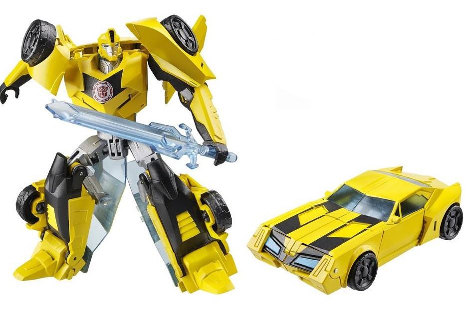 Трансформер Hasbro Transformers BumbleBee Бамблби 14 см Желтый (36-143364)