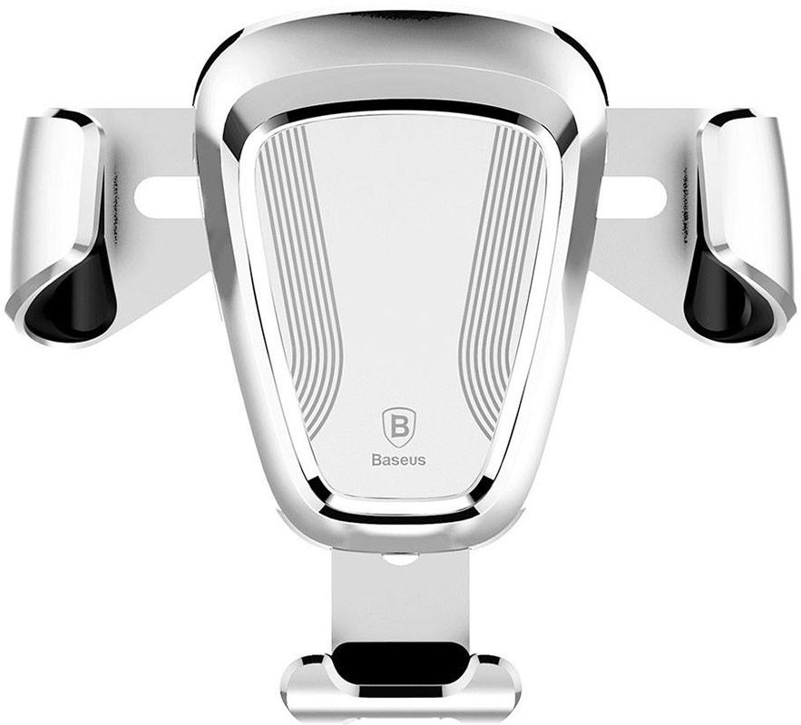 Автодержатель Baseus Gravity Car Mount Silver (54836)