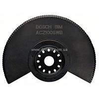Сегментированный нож с волнистой заточкой Bosch ACZ 100 SWB для Multi-Cutter
