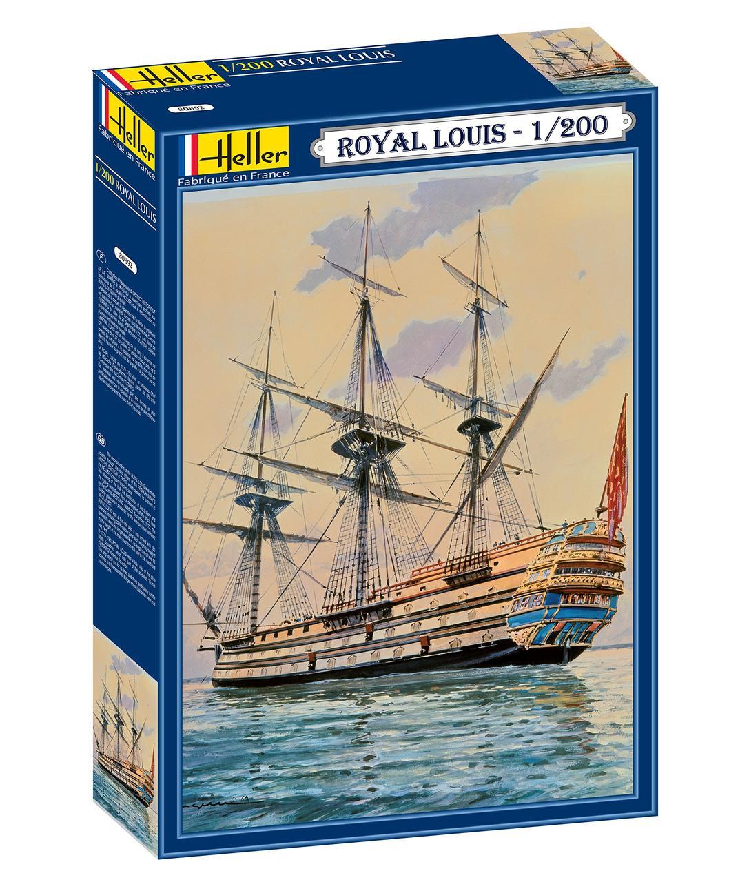 Сборная модель Heller Парусник Royal Louis 1/200 (80892)