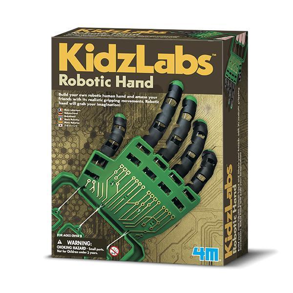 Набор для творчества 4M Роботизированная рука Зеленый с черным  (00-03284)