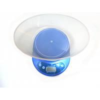 Кухонные электронные весы KangRui до 5кг KE-2 Синие ,  настольные весы