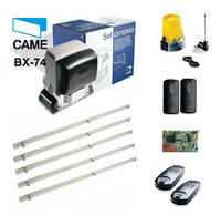 Комплект автоматики Came BX - 74 Maxi Kit для откатных ворот, фото 1