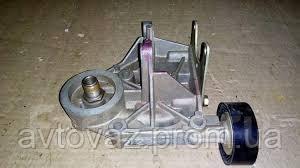 Кронштейн ВАЗ 2123 Нива Шевроле масляного фильтра и насоса ГУР в сборе c роликом INA