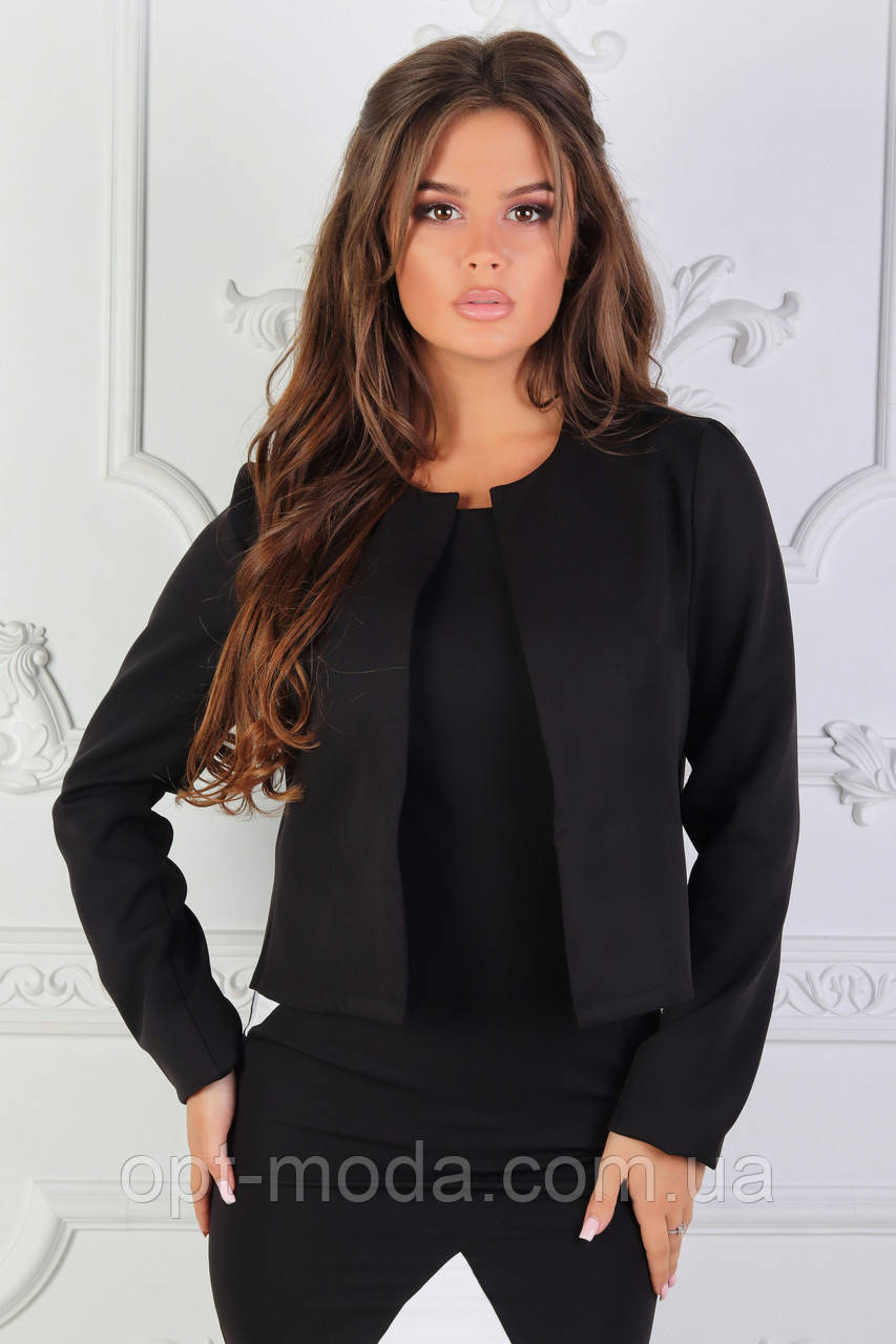 Шикарный стильный женский пиджак из костюмной ткани, красивая деловая одежда для женщин