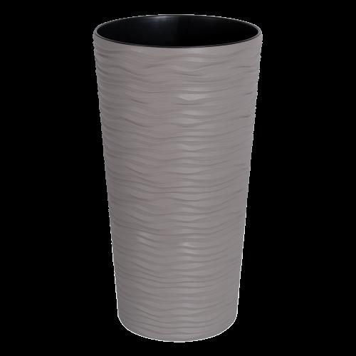 Горшок Фьюжн 16*30 см, какао