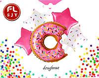 Набор фольгированных шаров Пончик, 5 шт