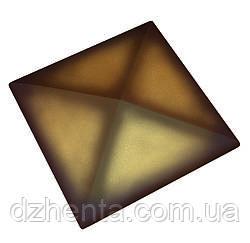 Клинкерная накрывка желтая ангоба 445*445
