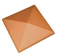 Клинкерная накрывка оранжевая CRH 445*445