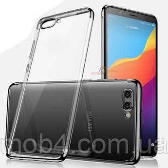Силиконовый прозрачный чехол бампер накладка для Huawei (Хуавей) Y9 2018