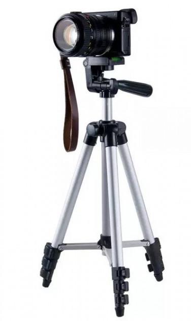 Штатив для фотоаппарата раскладной портативный 35-102 см трипод с чехлом 3110