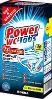 Таблетки для чистки унитаза G&G Power WC-Tabs 16 шт