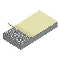 Уплотнитель EPDM самоклеющийся OSKAR 443, 5х20 мм, промышленный