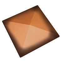 Клинкерная накрывка оранжевая ангоба CRH 445*445