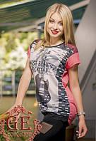 Женская футболка с Гитарой