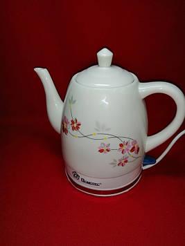 Керамічний електричний чайник Domotec MS-5053