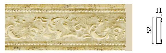Молдинг для стен Арт-Багет 156-553, интерьерный декор.